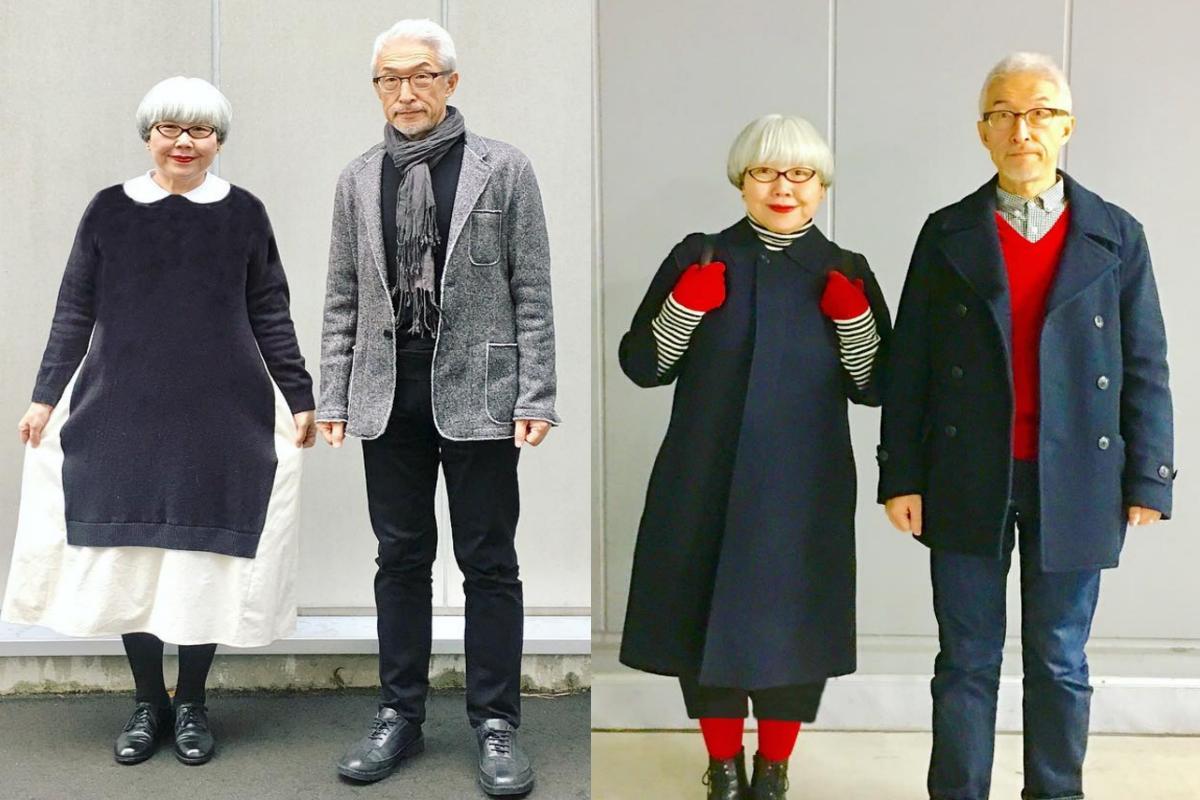 6a7bec2dd6ea7 37 Yıldır Birbirleriyle Uyumlu Giyinen Tontiş Japon Çift - Daima Kadın