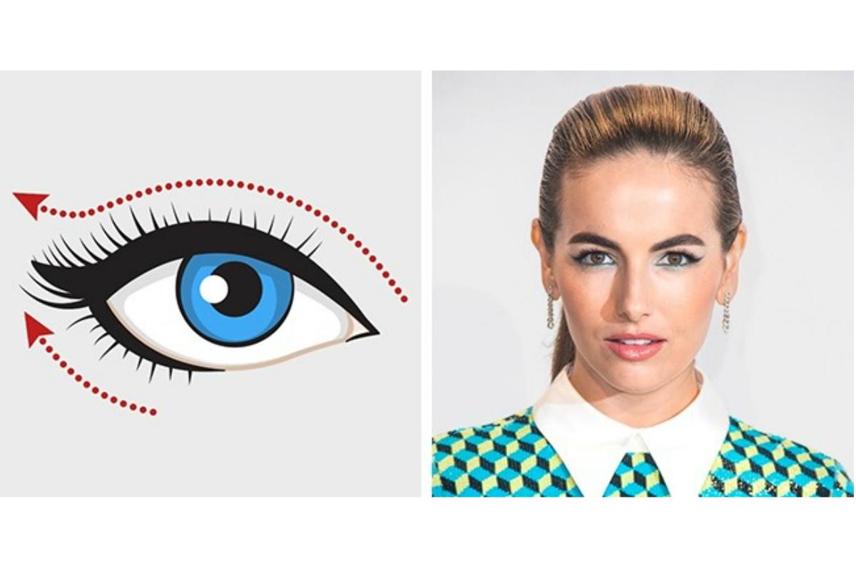 Göz Şekline Göre Eyeliner Sürme